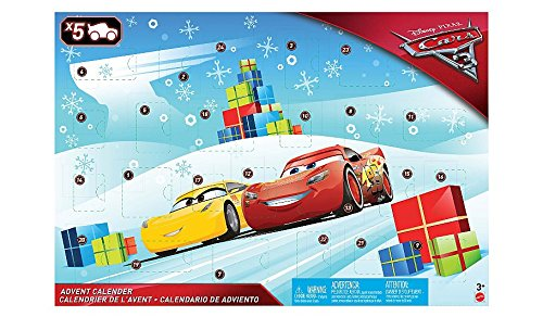 Disney Pixar Cars 3 Advent Calendar 2017