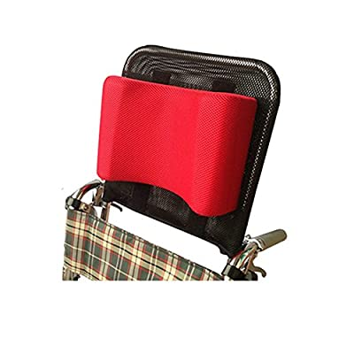 """Wheelchair Headrest Neck Support Head Padding Adjustable & Portable for Adults Travel Wheelchair Accessories for 16""""-20"""""""