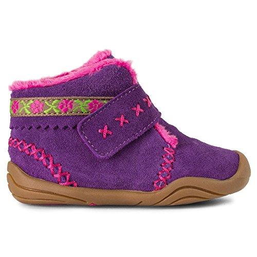 pediped Girls' Rosa Chukka, Purple, 23 EU(7 E US Toddler) by pediped (Image #2)