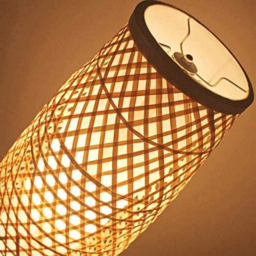 Floor Lamp Bamboo Wicker Rattan Shade Vase Floor Lamp Light Rustic Asian Japanese Nordic Tungsten Abajur Luminaria Light Floor Lamp Floor Lamps