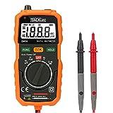 Tacklife Pocket Multimeter Auto Range Digital Multimeter with No Contact Voltage Test, AC/DC Voltage & Current, Resistance, Connectivity Tester   DM04