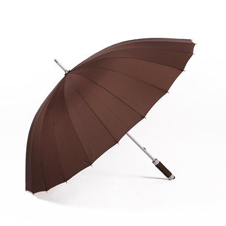 Gran Paraguas para la lluvia,Resistentes al viento Paraguas del palillo,Business Hombre Aire