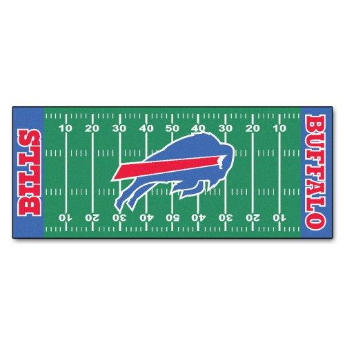 FANMATS NFL Buffalo Bills Nylon Face Football Field Runner