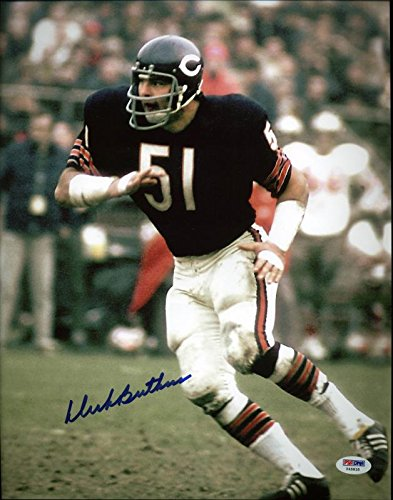 Bears Dick Butkus Signed Authentic 11X14 Photo Autographed (Dick Butkus Signed Photo)