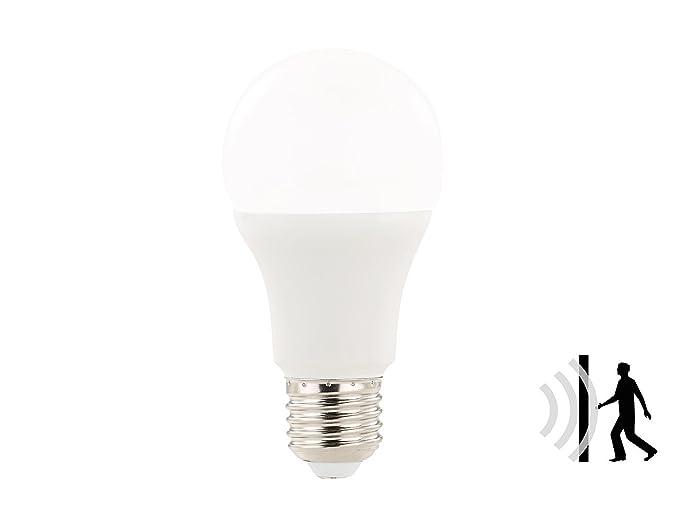 Luminea Movimiento Luz: lámpara LED con sensor de movimiento de radar, 12 W,