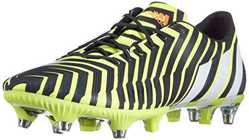 adidas Predator Instinct SG, Scarpe da Calcio Uomo Rosso/Blu/Bianco Giallo (Gelb (Light Flash Yellow S15/Ftwr White/Dark Grey))