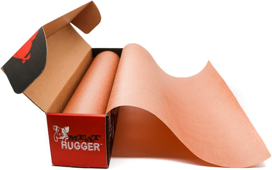 Pink Butcher Paper - For Meat Smoking and Barbecue - Heavy Duty Unwaxed Food Grade Paper - Smoker Safe - Use Wrap While Cooking For Tender Meat - Unbleached 17.25