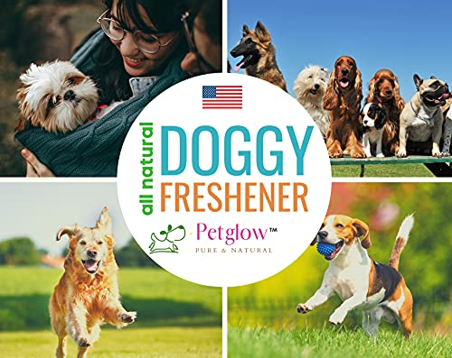 Dog Spray Deodorizer Perfume Freshener and Pet Cologne Spray for Smelly Dogs & Cats   Deodorant Conditioner with Neem and Peppermint's Essential Oil for Dogs to Smell Good