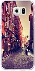 Galaxy S6 Case,Dseason Samsung Galaxy S6 Hard Case **NEW** High Quality Unique Design Protective Evening street