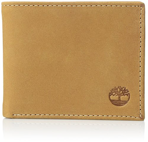 Timberland Mens Leather Passcase Wallet