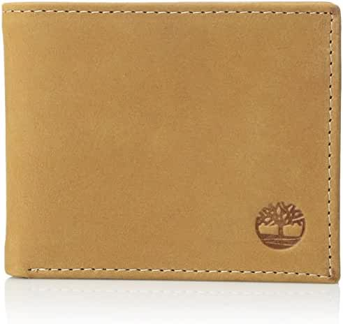Timberland Men's Boot Leather Passcase Wallet
