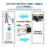 GAEYAELE W2R-3P Din Rail Mounted Automatic Transfer Switch Three Phase ATS 100A Power Transfer Switch