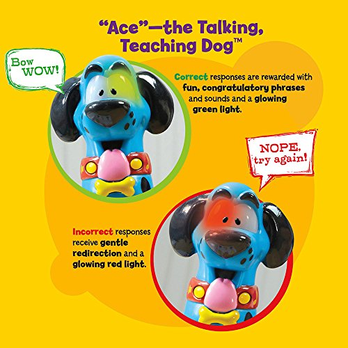 EDUCATIONAL INSIGHTS HOT DOTS JR. LET'S MASTER PRE-K MATH WITH ACE PEN