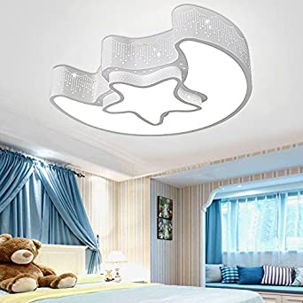CLG FLY Einfache Kinderzimmer Decke Ideen Jungen Und Mädchen Der Mond Und  Die Sterne Romantisches