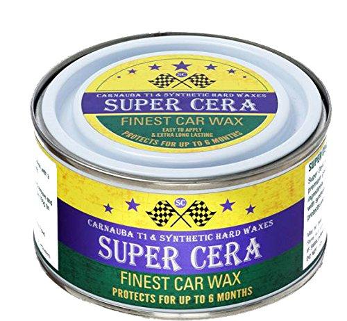 Dirtbusters Super Cera Carnaú ba bré silienne T1 et cires synthé tiques dures pour voiture - 150 g