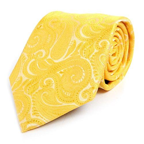 Yellow Paisley Tie - 2