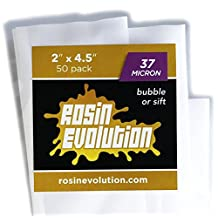 "Rosin Evolution Bags - 37 micron (2"" x 4.5"") - 50 pack"