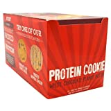 Buff Bake Protein Cookie, White Chocolate Peanut Butter, 282 oz (Pack of 12) Soft Baked, GlutenFree, HighProtein and Fiber Cookies with NonGMO, All Natural, Ingredients Nothing Artificial