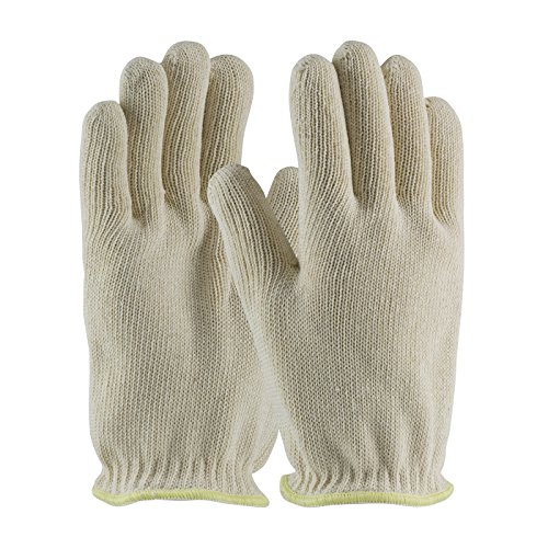 Hot Mill Knit (Double-Layered Cotton Seamless Knit Hot Mill Glove - 24 oz 43-500L, (8))