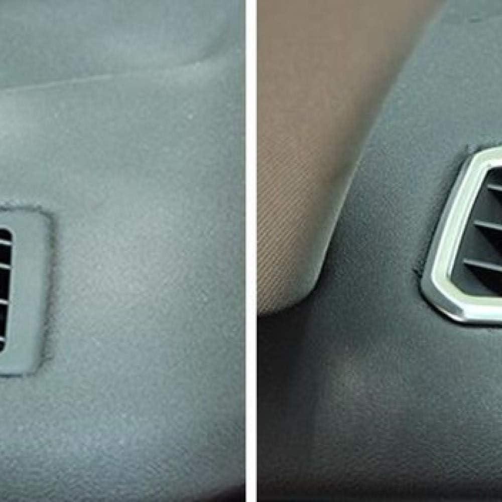 CJGKLS Garniture de Sortie dair pour Land Rover Discovery Sport Accessoires int/érieurs Auto///2pcs Tableau de Bord Climatisation Sortie D/écoration ABS Garniture de d/écalques