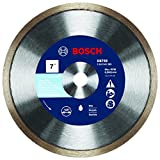 Bosch DB769 7 In. Rapido Premium Continuous Rim Diamond Blade for Glass Tile