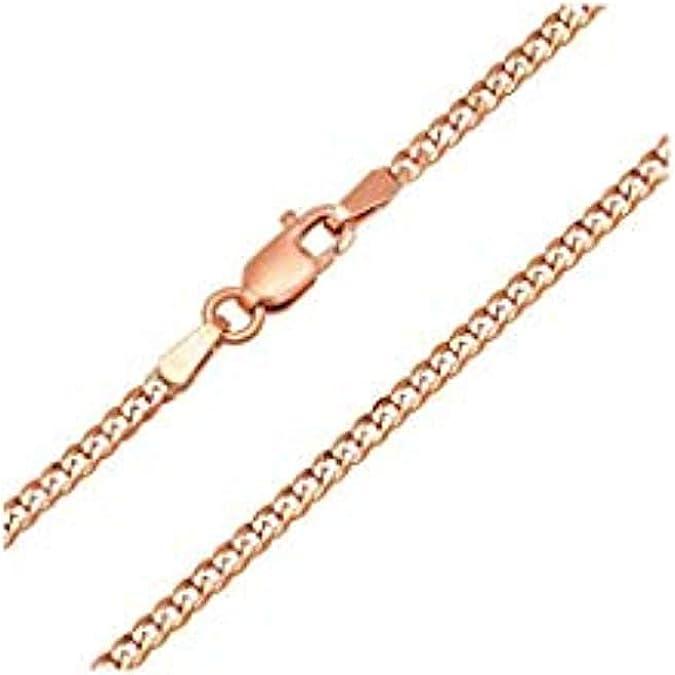 14K White Gold Figaro Chain Name Bar ID Bracelet 2.0 grams 6 inches 5.5mm