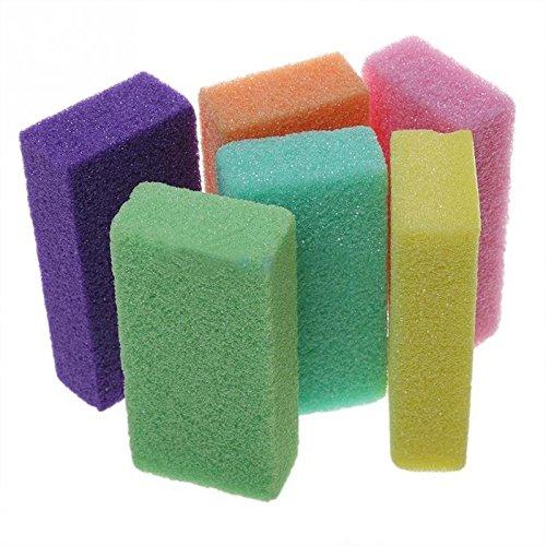 ONEVER 2pcs colore casuale Strumenti Pedicure Foot Scrub Your Feet pelle morta piede di Pedicure Cura dei piedi pietra pomice