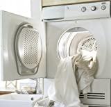 Asko T712CT 24' Electric Ventless Condenser Dryer with 6 Drying Programs, Butterfly Drying System and Stainless Steel Drum:Titanium