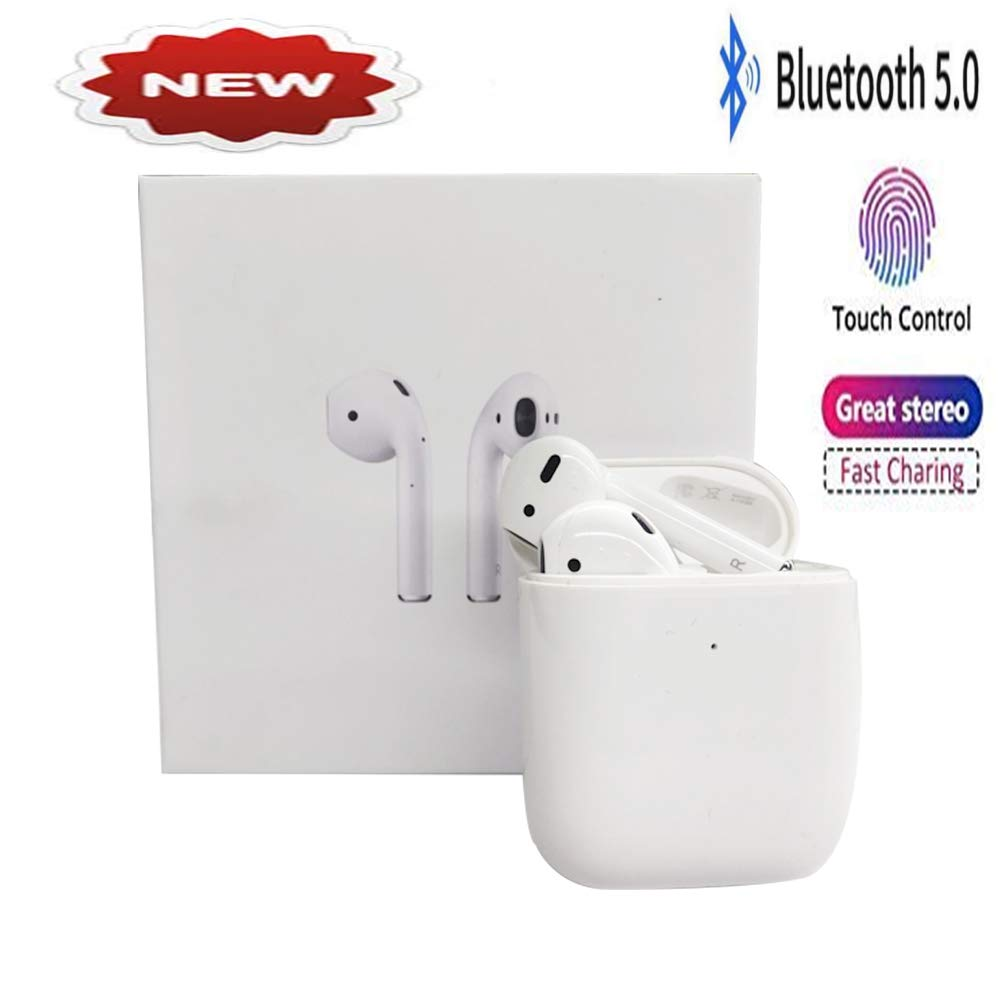 Bluetooth Earbuds, Bluetooth 5.0 Headset Wireless Earbuds, IPX5 in-Ear Wireless Headset Sports Headset Built-in Microphone,for iPhone X 8 7 6S Plus 6s Compatible, iPod Shuffle, iPod Nano 7, Samsung