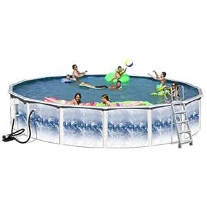 Splash Pools 24-Feet by 48-Inch Complete Famliy Pool-Package
