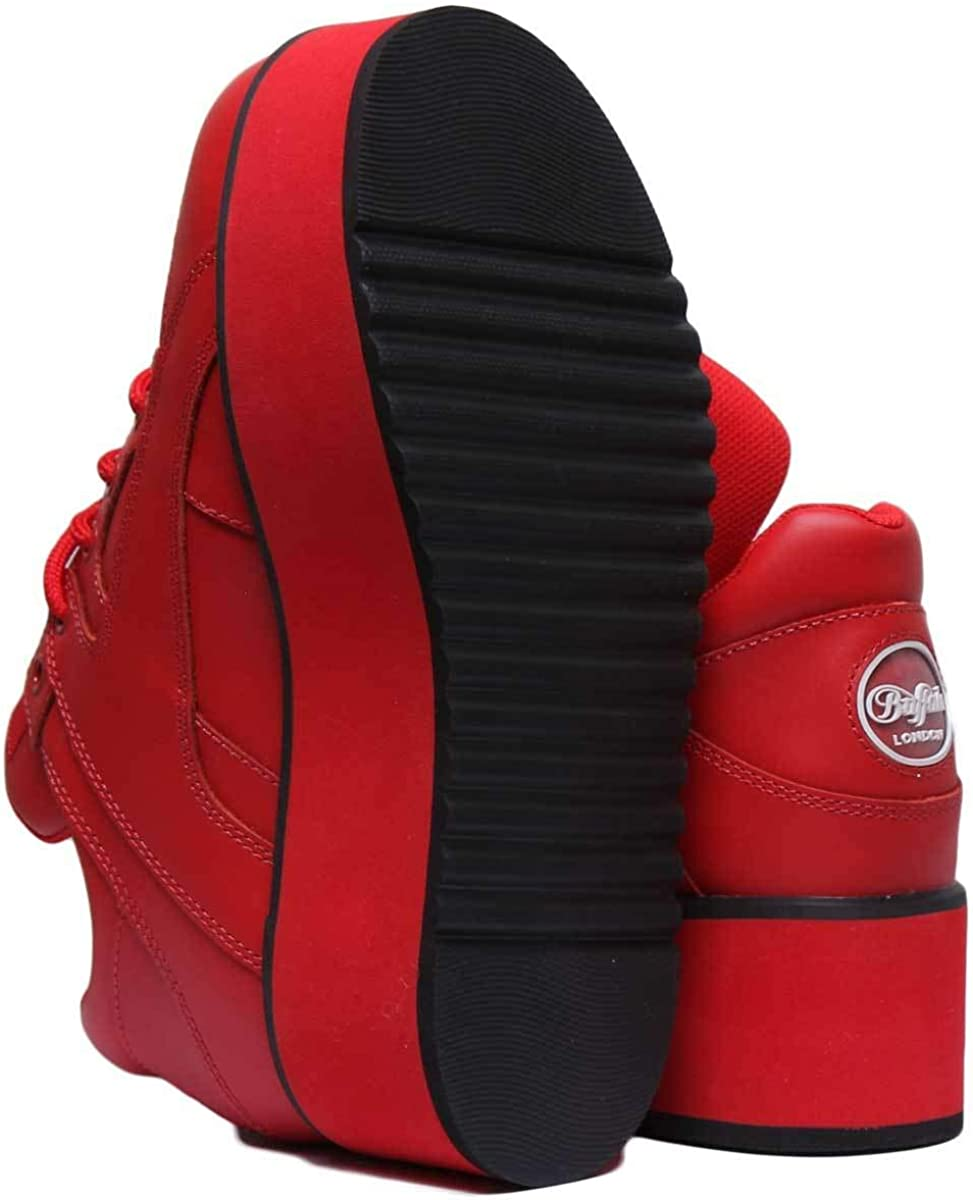 Buffalo Chaussures Femme Rising Towers Red