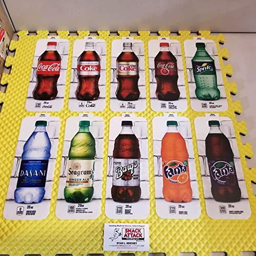 (10) Royal VENDORS SODA Vending Machine 20oz