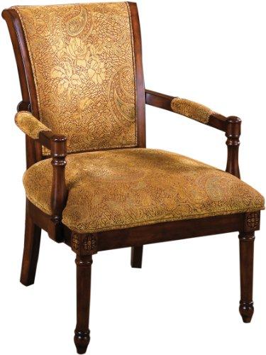 (Furniture of America Traviata Arm Chair, Antique Oak)