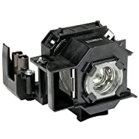 Electrified V13H010L33-ELE4 Complete Lamp with Module for EMP-TWD3 EMPTWD3 EMPTWD1 Epson Projectors
