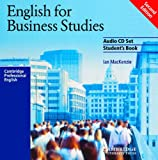 English for Business Studies Audio CD Set (2 CDs): A Course for Business Studies and Economics Students (Cambridge Professional English)