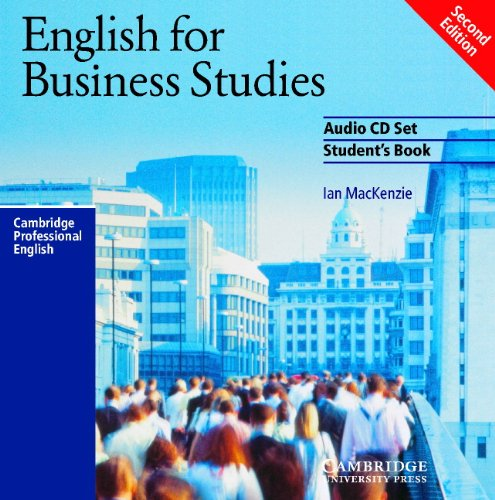 English for Business Studies Audio CD Set (2 CDs): A Course for Business Studies and Economics Students (Cambridge Professional English) by Cambridge University Press