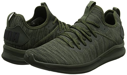 Black puma Grey Homme Flash Puma Chaussures Night forest Vert Ignite Pour D'entranement castor Evoknit 1nCO7q