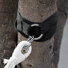 Finether Tree Swing Hanging Straps Kit holds 2000 lbs,8 ft Strap Perfect for Swings and Hammocks, Easy & Fast Swing Hanger Installation 2 Strap & Snap Carabiner S Hook