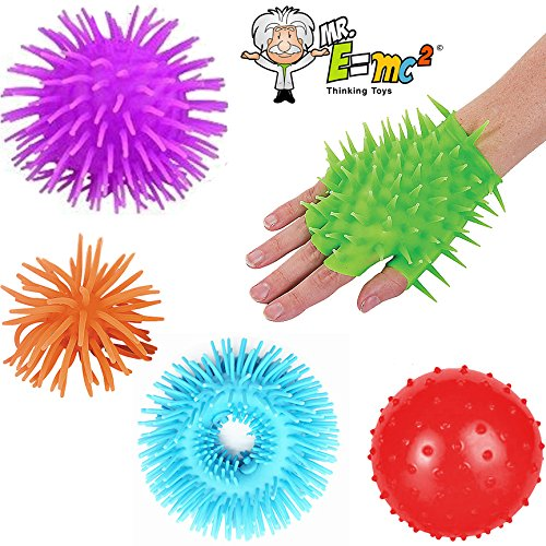 5 Pc Sensory Processing Disorder Bundle for Kids; Autistic Toys, ADHD Tools, Stress & Anxiety Relief