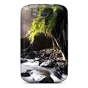 Premium Nei Dong Waterfall Case For Galaxy S3- Eco-friendly Packaging