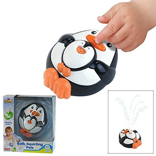 Happy Kid Toy Group Squirting Penguin Bath Pal