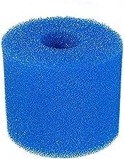Crazyfly Vervangingsfilter, cartridgeschuim type I/II/VI/D/H/S1/A/B Heavy Duty zwembadfilter, spons herbruikbaar voor zwembad spa