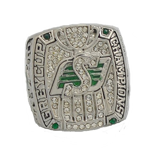 YIYICOOL-1999 Grey Cup Championship Ring-CFL Canadian Football League Memorabilia - Mens Size 10