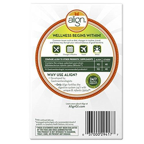 Align Probiotic Supplement (Pack of 5)