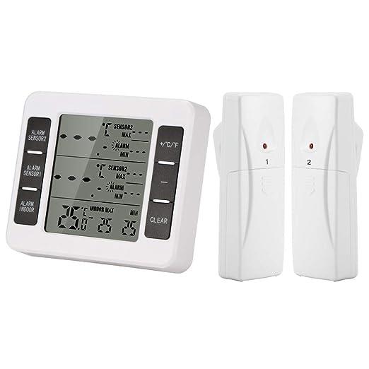 DEBEME Termómetro de Nevera, termómetro Digital para congelador ...