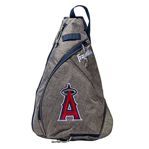 - Franklin Sports Anaheim Angels MLB Team Licensed Crossbody Slingbak Baseball or Softball Shoulder Bag for Men & Women