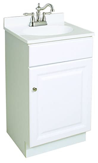Design House 531723 Wyndham Ready To Assemble White 1 Door Vanity 18