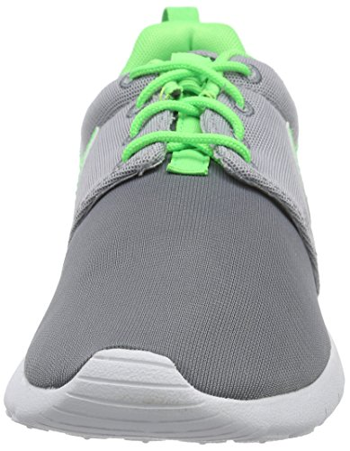 Roshe Ginnastica da Unisex Gs One white Strike Grey Cool Green Grey wolf Bambino Multicolore Nike Scarpe RqTRw