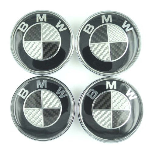 carbon fiber wheel center caps - 4