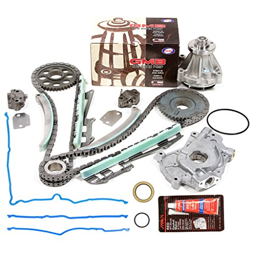Evergreen TKTCS6046RWOP3 97-02 Ford 4.6 SOHC 16V ROMEO Timing Chain Kit Oil Pump GMB Water Pump Timing Cover Gasket
